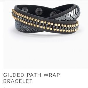 Gilded Path wrap bracelet by Stella and Dot